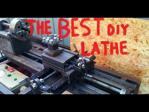 homemade metal/wooden lathe