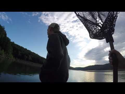 Catfishing on Center Hill Lake