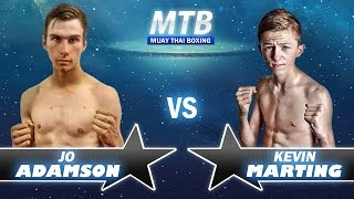 Jo Adamson vs Kev Marting - 55kg 'N Class
