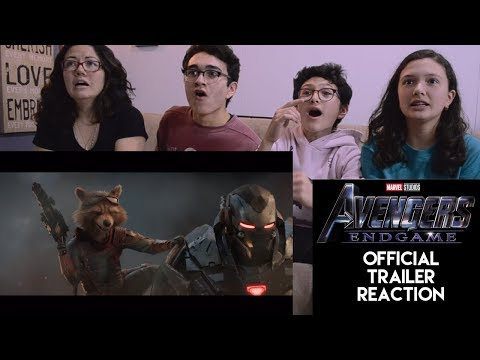 AVENGERS: ENDGAME | OFFICIAL TRAILER REACTION | MAJELIV FAMILY REACTIONS