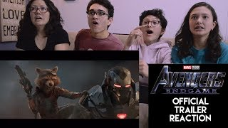 AVENGERS: ENDGAME || OFFICIAL TRAILER REACTION || MAJELIV PROD. 2019