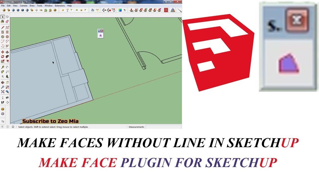 make faces plugin for sketchup 2018 free download