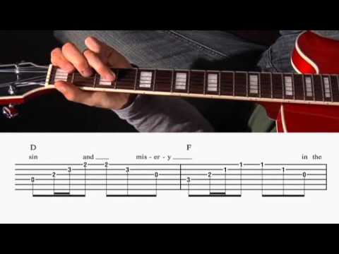 The Animals - The House of the Rising Sun - Guitar Lesson - Chords ...