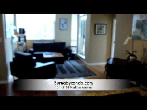 Renaissance Mosaic Condo For Sale: #101 - 2138 Madison Ave Burnaby BC