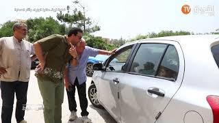 عائلة استولت على محل و حولته الى مسكن ترفض مواجهة صاحب المشروع السياحي بعد خروجه من السجن  .