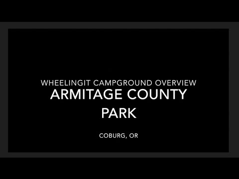 Armitage County Park Campground Overview