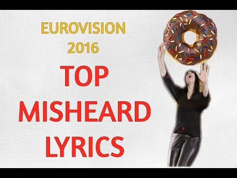 Eurovision 2016 Top Misheard Lyrics Animated: Part 1