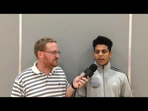 Prep Sports Net interview with Rancho Mirage High School Rattlers Boys Basketball