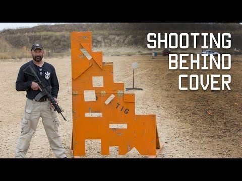 How to Shoot from Behind Cover or Barricade | Combat Techniques & Skills | Tactical Rifleman