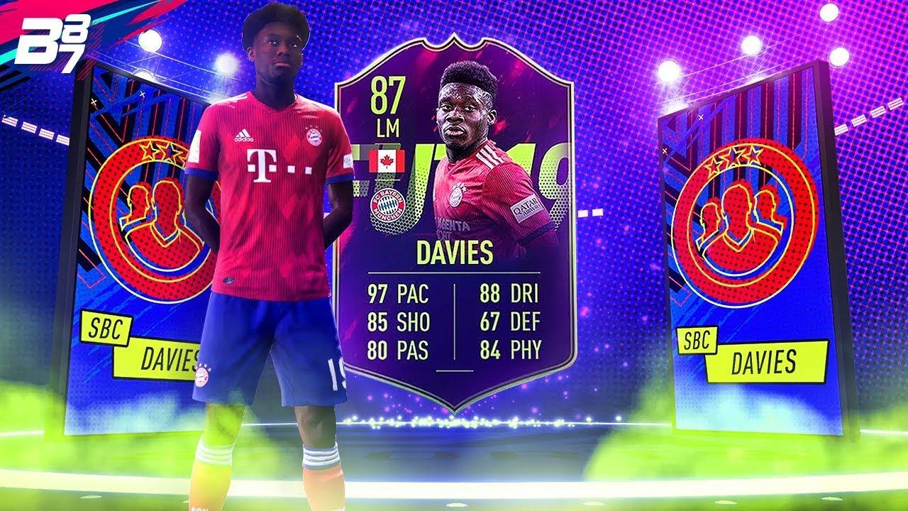 Alphonso Davies Fifa 19