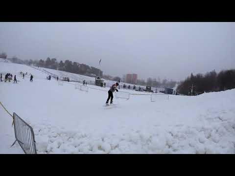 Snowboard front flip (Neskaudejo)