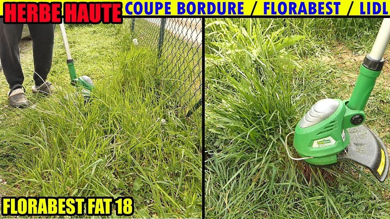 coupe bordures lidl florabest fat 18v