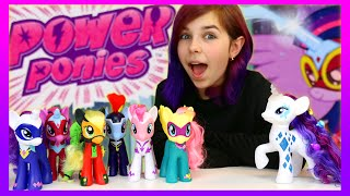 MY LITTLE PONY POWER PONIES TARGET EXCLUSIVE & GLAMOUR GLOW RARITY