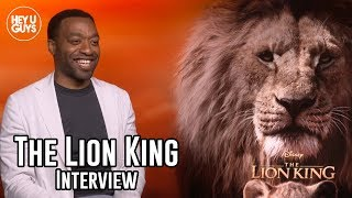Chiwetel Ejiofor Scar Interview - The Lion King