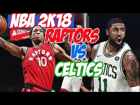 NBA2K18 Toronto Raptors vs. Boston Celtics Gameplay