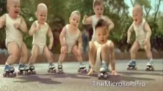 Evian Roller Babies Sean Paul (remix)