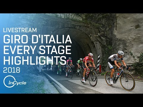 Giro d'Italia 2018 | EVERY STAGE LIVESTREAM | Highlights | inCycle