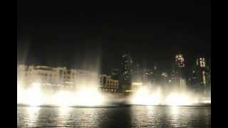 Dancing Fountain, Arabic music Dubai Burj Khalifa