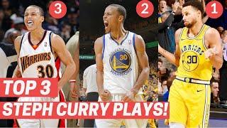 Top 3 Stephen Curry Plays Each Season!