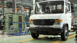 Mercedes-Benz Vario Production at the Ludwigsfelde plant