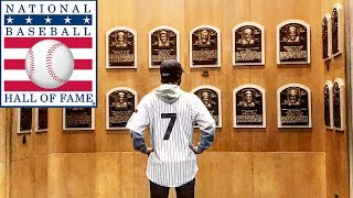 My BASEBALL HALL OF FAME Visit in Cooperstown!