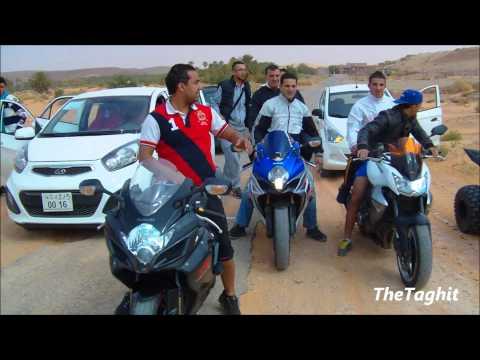 Les Motards imposent leurs loi dans le désert algerien 3/3