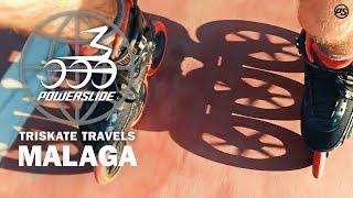 Triskate Travels Malaga - Powerslide Inline Skates