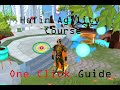 Runescape Hefin Agility Course in ONE click Guide