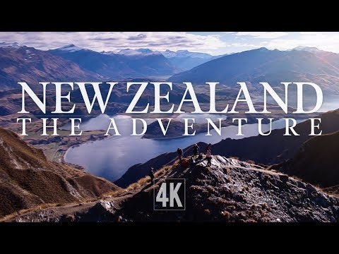 New Zealand - 'The Adventure' by Drone (4K)