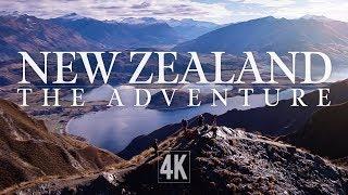 new zealand   the adventure by drone 4k