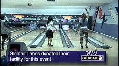 Glendale Youth Project bowling event