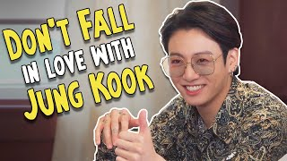 Don't fall in love with JUNGKOOK (BTS) Challenge!!!