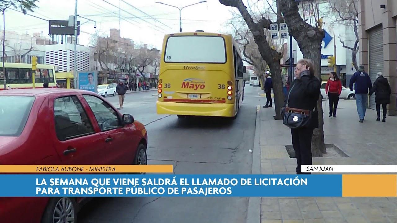 La semana que viene saldrá el llamado de licitación para transporte público de pasajeros