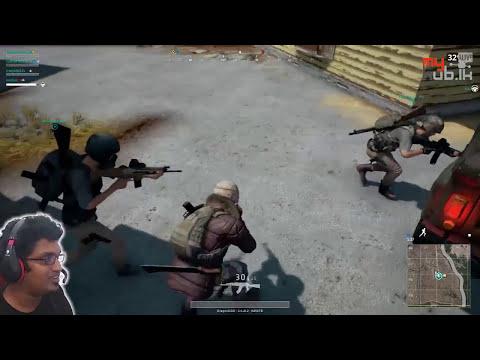 PUBG multiplayer ( පැය 1.5+ ) සිංහල gameplay with 4 Players | myHub.lk