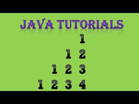 Number Pattern in Java