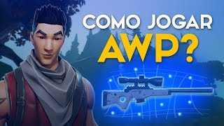 HOW TO PLAY FROM AWP? -FORTNITE GAMEPLAY SOLO #42 (Fortnite Battle Royale Gratis) [EN-BR]-Softe