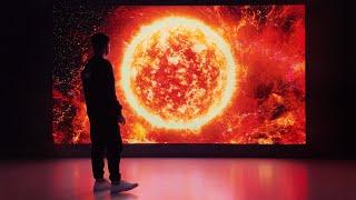 THE MOST PIXELS IVE EVER SEEN - Samsung 8K TV!