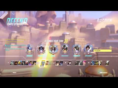 Most TOXIC 12 year old kid RAGES in 20 seconds (Overwatch Competitive)