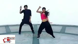 Desi Indian Hot and Sexy Girl Sexy Dance with Boy on Bollywood song