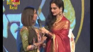 Rekha, Asha Bhosle, Asha Parekh & others at Marathi Taraka 100th Show Celebration  3