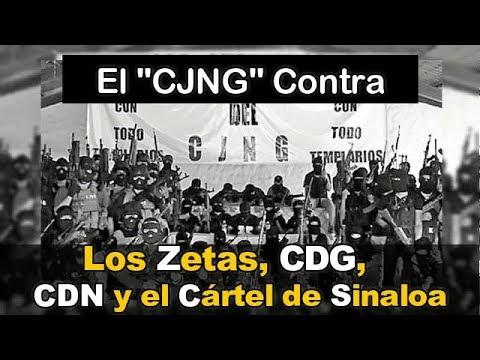 """El """"CJNG"""" Contra """"El Mayo"""" y """"Los Chapitos"""" y 4 Cárteles mas, en ..."""