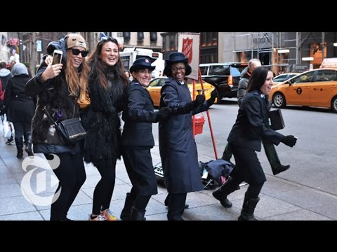 Holiday Magic   On the Street w/ Bill Cunningham   The New York Times