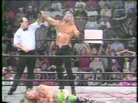 WCW DISCIPLE VS  LENNY LANE