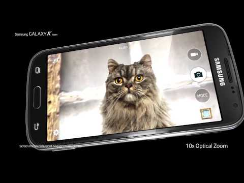 Samsung Galaxy K zoom Commercial