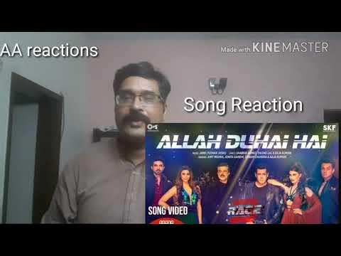 Allah Duhai Hai song video- Race 3 |AA AA reactions | Salman Khan | JAM8 | Amit, Jonita, Sreerama,