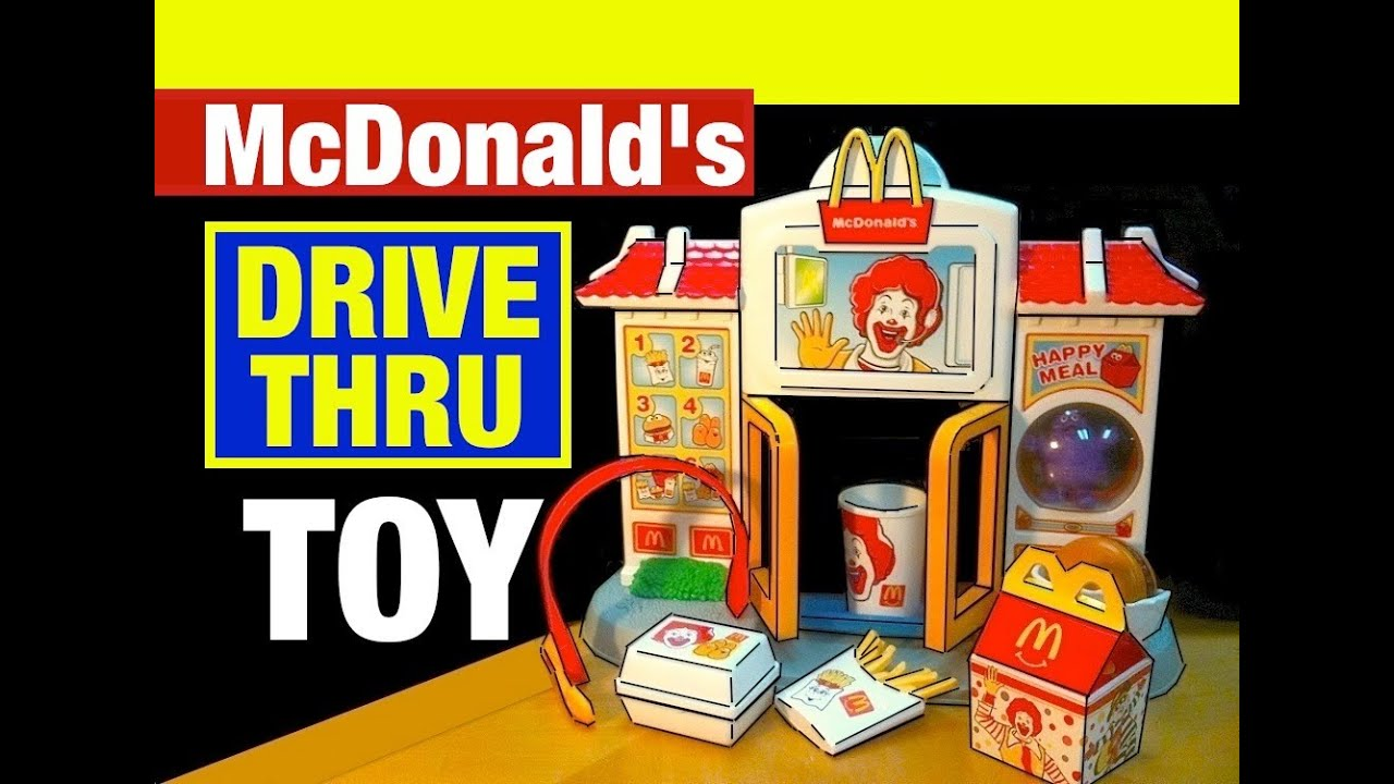 Mcdonald S Happy Meal Drive Thru Mcdonalds Toys Review By