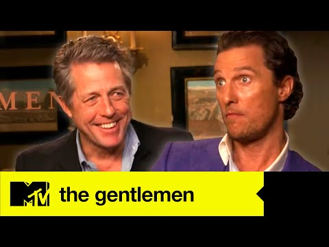 Matthew McConaughey & Hugh Grant Talk Tense Moments With The Gentleman Director | MTV Movies