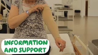 Lymphoedema and compression garments - Macmillan Cancer Support