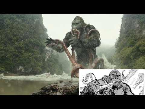 From Storyboard to Screen - Kong vs Squid