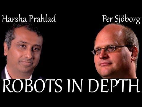 Harsha Prahlad  in Robots in Depth #21 Sponsor: Aptomica.com Host: Per Sjöborg